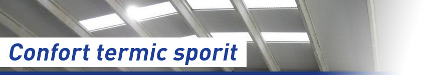 Confort termic sporit